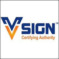 v sign digital signature certificate